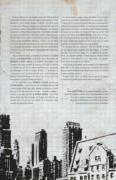 Page 7 Gotham central tome 2