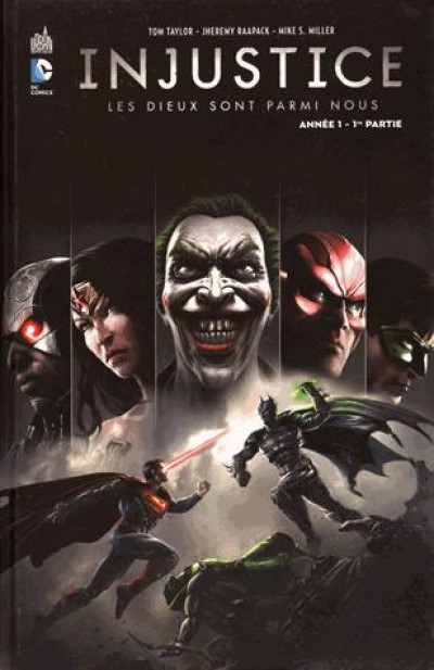 Couverture Injustice tome 1