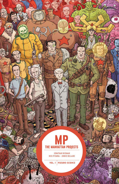 Couverture Manhattan projects tome 1