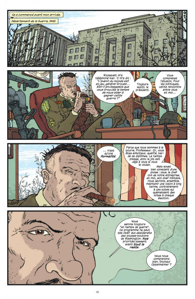 Page 1 Manhattan projects tome 1