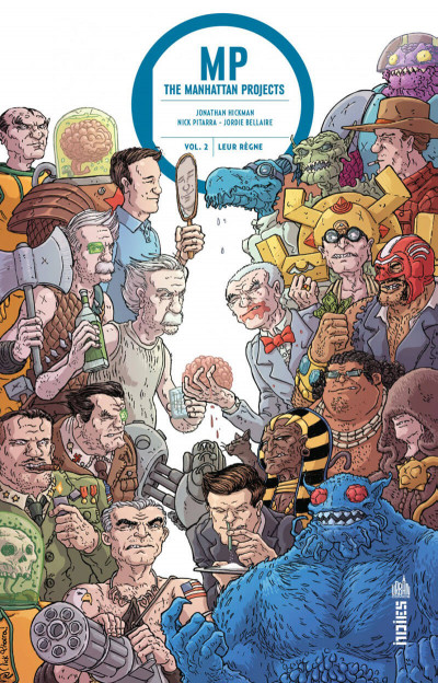 Couverture Manhattan projects tome 2
