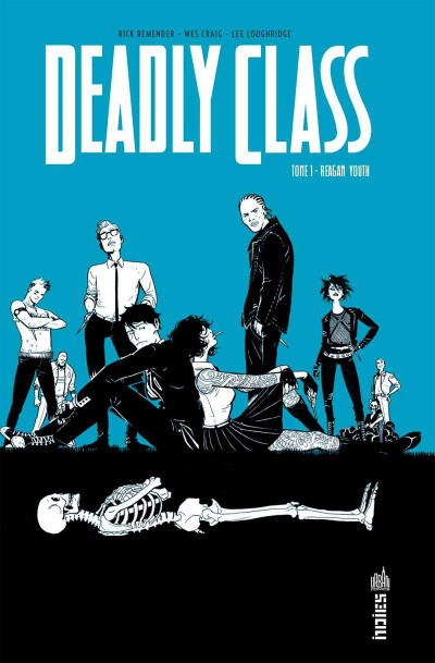 Couverture Deadly Class tome 1