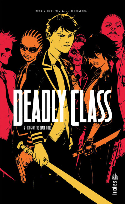 Couverture Deadly class tome 2