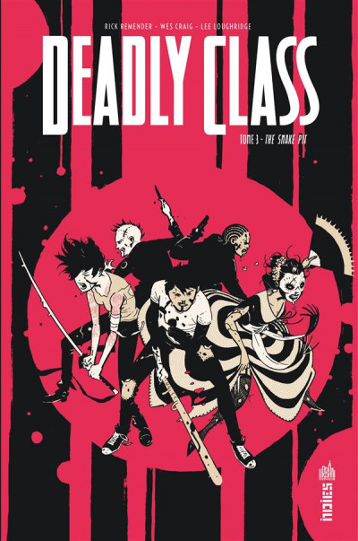 Couverture Deadly class tome 3