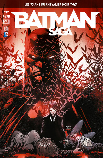 Couverture Batman Saga tome 27