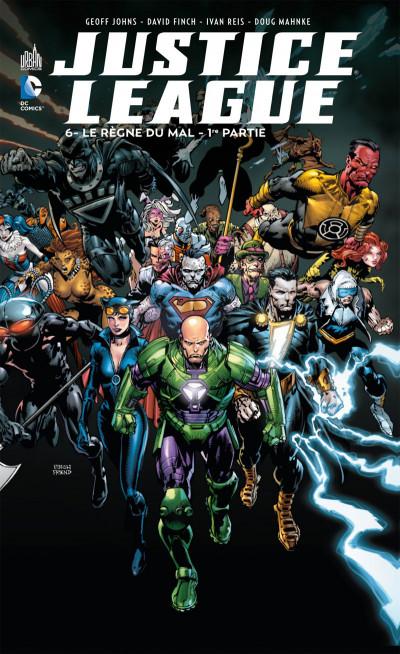 Couverture Justice league tome 6