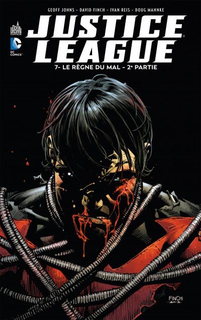 Couverture Justice league tome 7