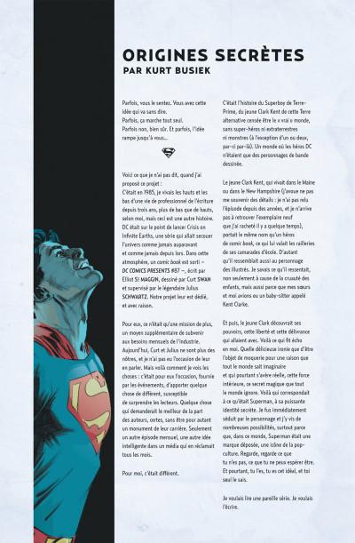 Page 4 Superman identité secrète