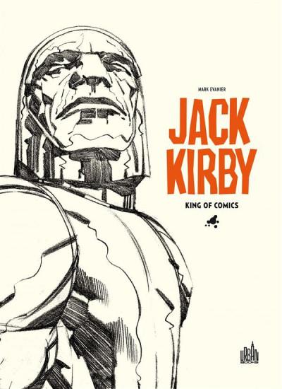 Couverture Jack Kirby, king of comics par Mark Evanier