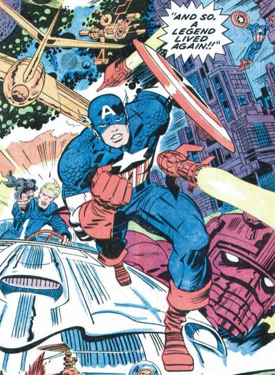 Page 1 Jack Kirby, king of comics par Mark Evanier