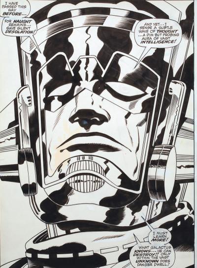 Page 2 Jack Kirby, king of comics par Mark Evanier