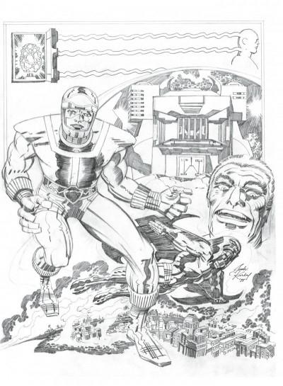 Page 4 Jack Kirby, king of comics par Mark Evanier