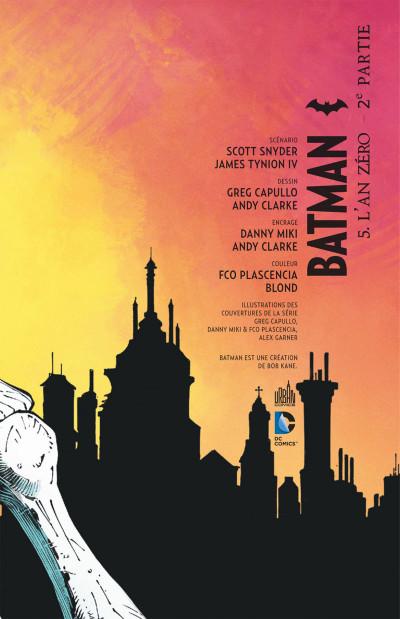 Page 3 Batman tome 5 - l'an zéro 2ème partie