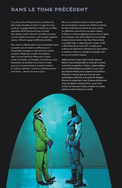 Page 4 Batman tome 5 - l'an zéro 2ème partie