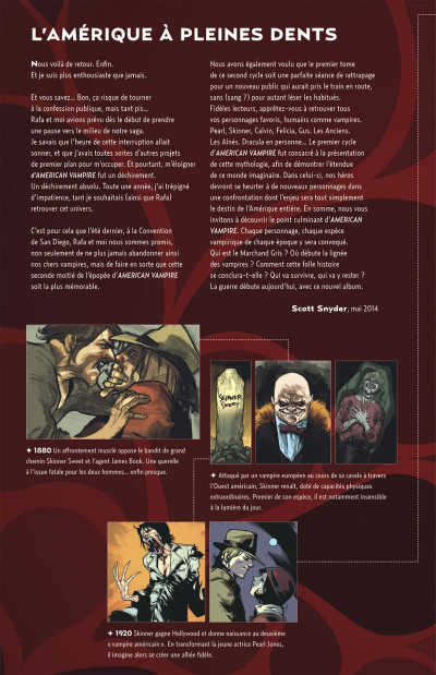 Page 4 American vampire tome 7 - Le marchand gris
