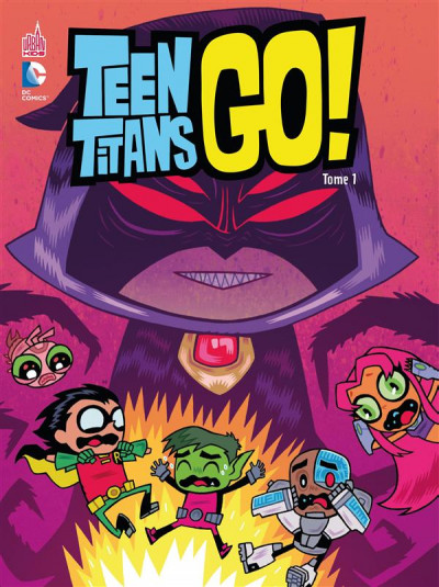 Couverture Teen titans go ! tome 1