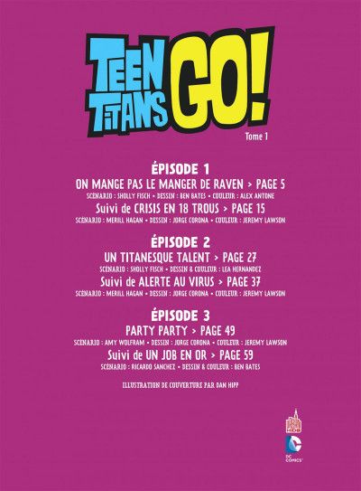 Page 3 Teen titans go ! tome 1