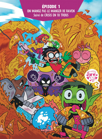 Page 4 Teen titans go ! tome 1