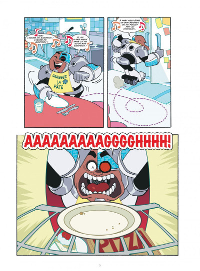 Page 5 Teen titans go ! tome 1