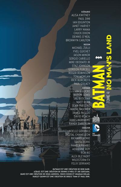 Page 3 Batman no man's land tome 4