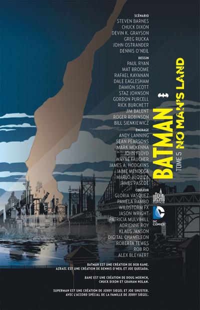 Page 3 Batman no man's land tome 5