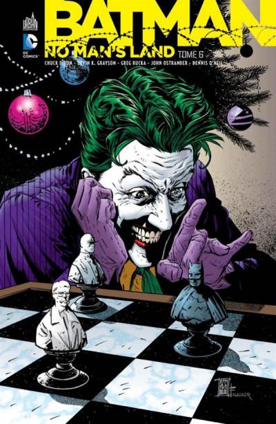 Couverture Batman no man's land tome 6