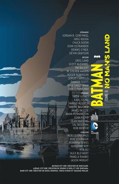 Page 3 Batman no man's land tome 6