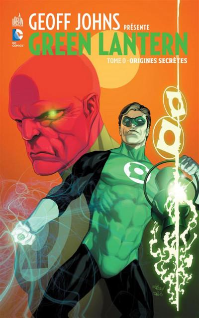 Couverture Geoff Johns présente Green Lantern tome 0