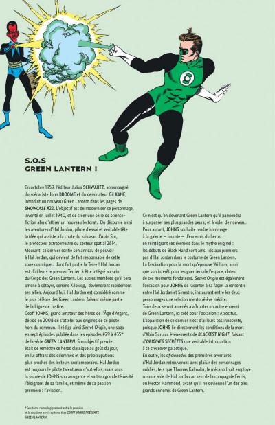 Page 2 Geoff Johns présente Green Lantern tome 0