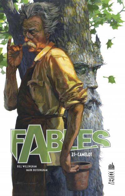 Couverture Fables tome 21 - Camelot (cartonné)