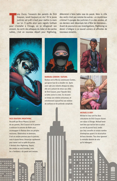 Page 4 Nightwing tome 5
