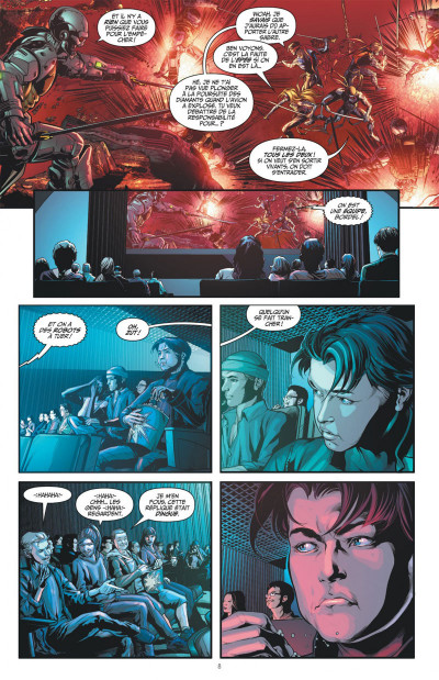 Page 8 Nightwing tome 5