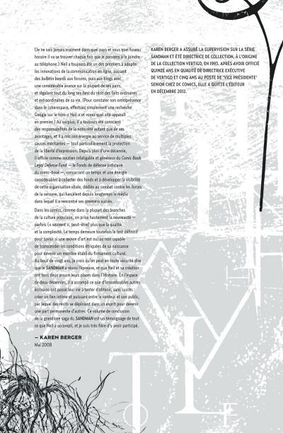 Page 8 Sandman tome 6