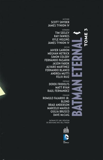 Page 3 Batman eternal tome 3