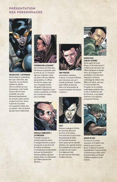 Page 5 Catwoman tome 4