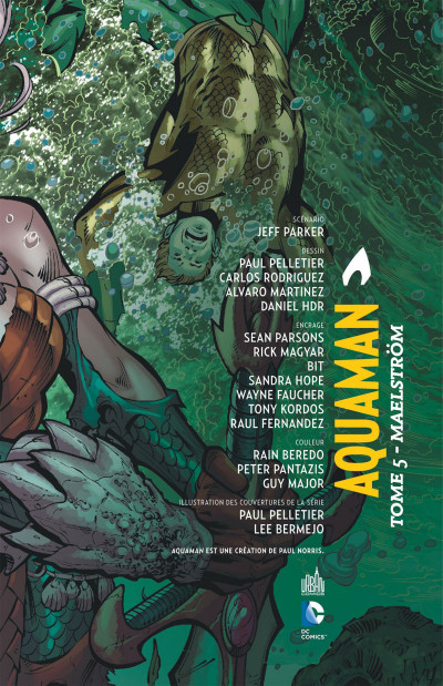 Page 3 Aquaman tome 5