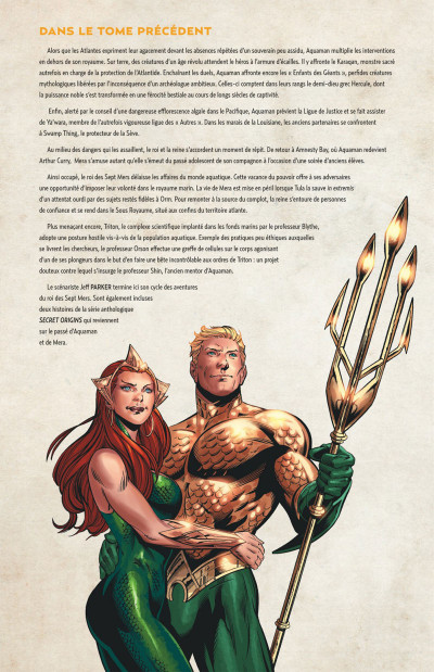 Page 4 Aquaman tome 5