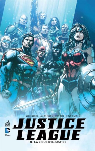 Couverture Justice league tome 8