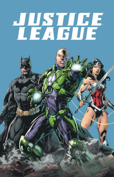 Page 1 Justice league tome 8