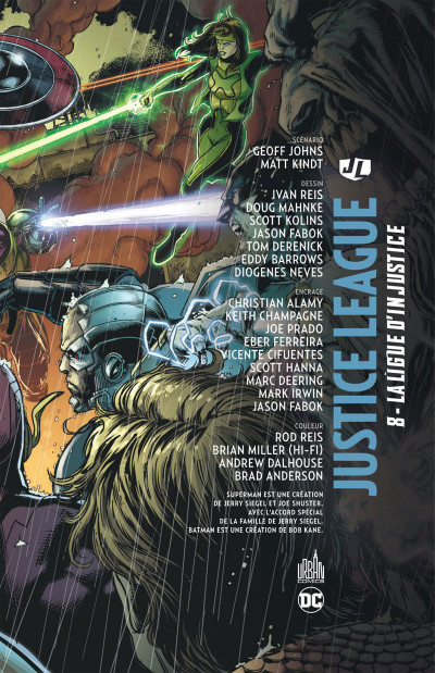 Page 3 Justice league tome 8