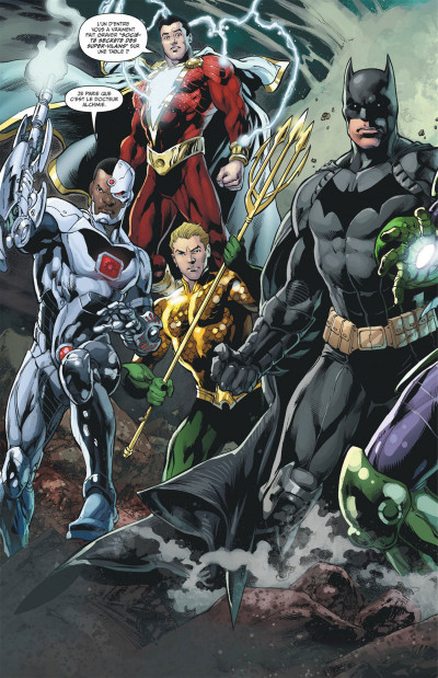 Page 8 Justice league tome 8