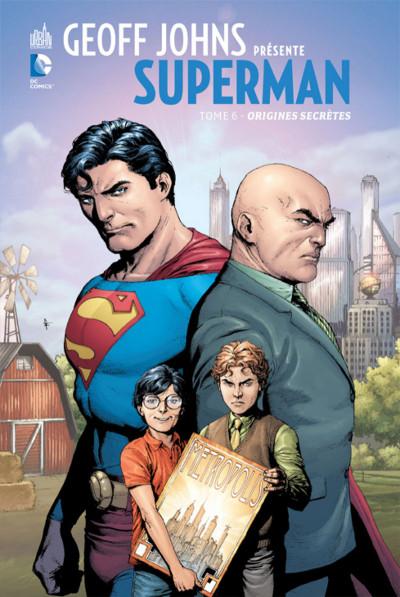 Couverture Geoff Johns présente Superman tome 6