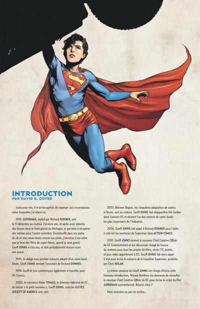 Page 4 Geoff Johns présente Superman tome 6