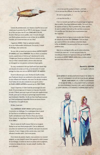Page 5 Geoff Johns présente Superman tome 6