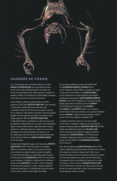 Page 4 Batman le chevalier noir tome 4