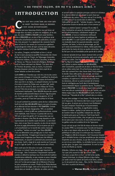 Page 6 Garth Ennis présente Hellblazer tome 2