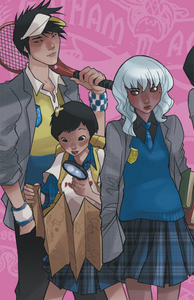 Page 2 Gotham Academy tome 1