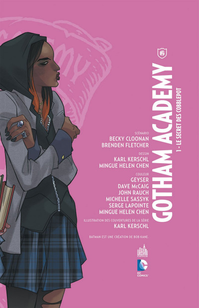 Page 3 Gotham Academy tome 1