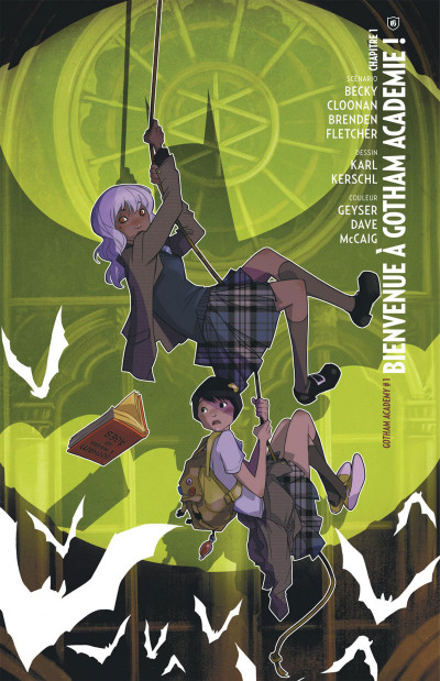 Page 4 Gotham Academy tome 1