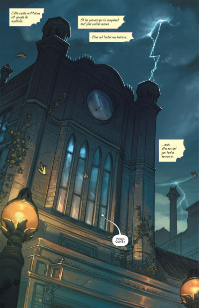Page 5 Gotham Academy tome 1